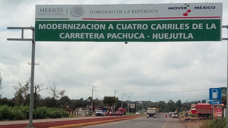 Mexico to award 126 million USD to the state of Hidalgo in highway concessions